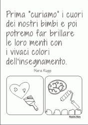 Frasi dedicate ai bambini con disegni da colorare