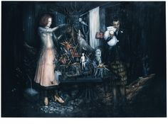 Séraphine Pick Burning the Furniture, 2007 Whiskers On Kittens, Human Emotions, Surreal Art, Artist Painting, Dark Art, Printmaking, Surrealism, Fantasy Art, Concept Art