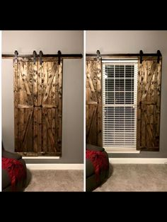 Diy Farmhouse Style Indoor Shutters Window Bathroom