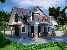 20 Photos of Small Beautiful and Cute Bungalow House Design Ideal for Philippines This article is filed under: Small Cottage Designs, Small Home Design, Small House Design Plans, Small House Design Inside, Small House Architecture House Design Pictures, Small House Design, Modern House Design, Craftsman Bungalow House Plans, Bungalow Haus Design, Small Bungalow, Modern Craftsman, Style At Home, Casas Country