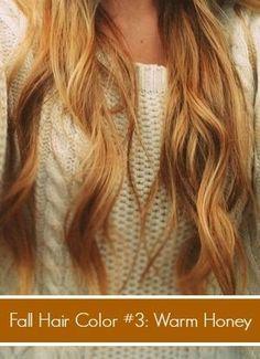 Fall Honey Blonde