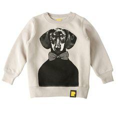 Hugo Sweatshirt Grey Rock Your Baby Grey Sweatshirt, Graphic Sweatshirt, Rock You Baby, Gray Rock, Baby Bouncer, Designer Kids Clothes, My Boys, Cool Kids, Sweaters