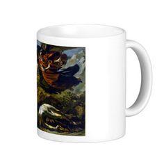 Mythology Coffee Mug #Mythological #Mythology #Painting #Art #Vintage #Fashion #Coffee #Tea #Chai #Mug