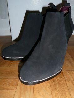 Low boots en cuir velours Athé Vanessa Bruno
