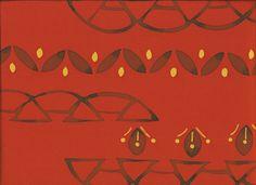 "Silk Kimono ""Stylised bridges"" http://www.kesarankimonofabric.com/"