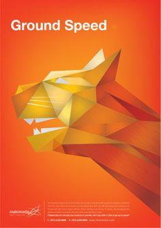 Dynamic Campaign by Maria Gasan, via Behance poster