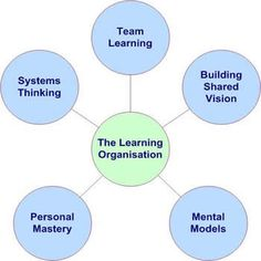 learning organisation diagram
