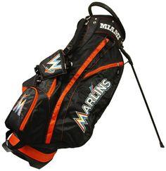 MLB Miami Marlins Fairway Golf Stand Bag