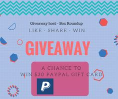 Enter this giveaway to win $15 Paypal gift card