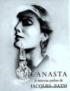 1937 - Perfume Canasta by Jacques Fath.