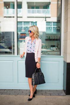 Day to Night | Pencil Skirt | Hi Sugarplum!