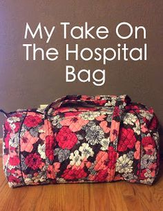 Must haves for the mommy-to-be hospital bag