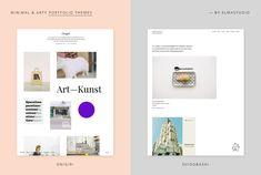Onigiri and Suidobashi are two arty, minimal WordPress portfolio themes by Elmastudio.