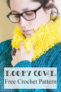 Loopy Cowl - Free Cr