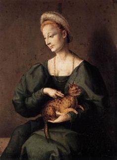 A Woman, ca. 1545 (Bacchiacca) (1494-1557) Staatliche Museeun zu Berlin