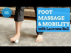 There's one body part you're forgetting to roll out, and all you need is a lacrosse ball. Here's an easy ankle mobility exercise that banishes pain.