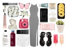 """""""can't wait for summer"""" by jet-black-heart555 ❤ liked on Polyvore featuring Miss Selfridge, H&M, philosophy, Monki, Lindt, Mamonde, Fujifilm, Cleanse by Lauren Napier, House Parts and Grown Alchemist"""
