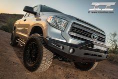 Magnum Bumper for the 2014 Toyota Tundra (pictured with RT-Series Light Bar). 2014 Toyota Tundra, Tundra Truck, Toyota Trucks, Trd, Truck Accessories, Monster Trucks, Instagram, Vehicles, Badass