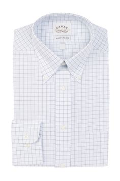Check Plaid Regular Fit Dress Shirt
