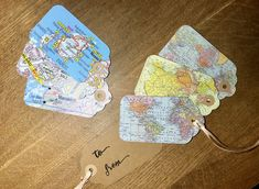 Handmade gift tags using map locations personalised or vintage and Kraft cut, hand stamped cards. made from start to finish from my home in Kent Handmade Gift Tags, Personalized Tags, Greeting Cards Handmade, Hand Stamped Cards, Unique Gifts, Card Making, Scrapbook, Map, Presents