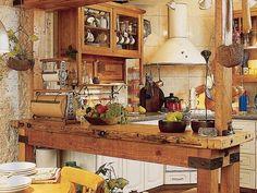 cocina sencilla y cálida