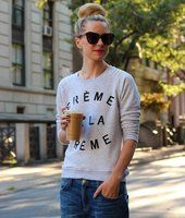 Crème de la Crème Sweater by Zoe Karssen