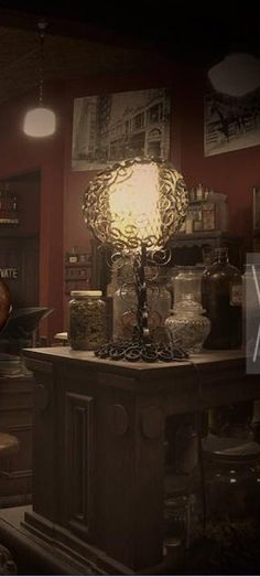 """apothecary shop from """"Grimm"""""""