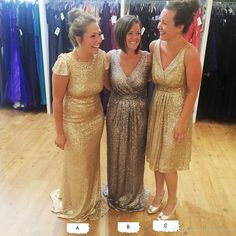Select a most suitable bridesmaid dress for the wedding ceremony. You should consider the dresses that would certainly flatter your bridesmaids, as well, match your wedding ceremony theme. Modern Bridesmaid Dresses, Mermaid Bridesmaid Dresses, Bridesmaids, South African Dresses, Maid Of Honour Dresses, Sexy Evening Dress, Glitter Dress, Sequin Gown, Stunning Dresses