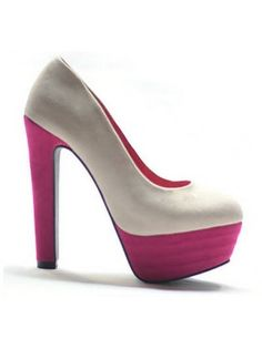 Colorblocked High Heels