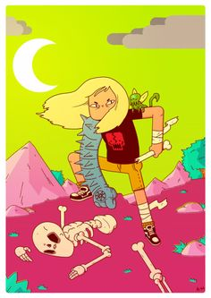 You should totally read Witch Gauntlet by Zé Burnay.