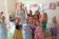 Princess scavenger hunt party