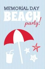 memorial day beach party nj