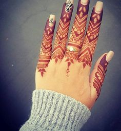 1,237 Likes, 5 Comments - Daily Henna pOsts ❤ (@just_mehndi) on Instagram