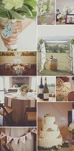Ideas inspiradas en la vendimia para bodas de otoño