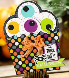 "Brigit's Scraps ""Where Scraps Become Treasures"": Halloween Cupcake"