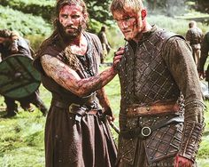 Bjorn and Rollo. Vikings.