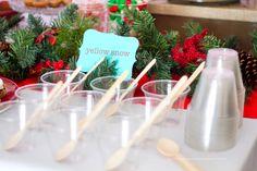 Yellow Snow Frozen Lemonade Christmas In July Decorations Christmas In July July Party