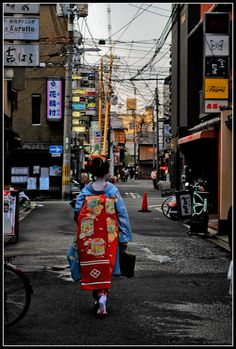 Negotiating Culture & Modernity, Kyoto, Japan