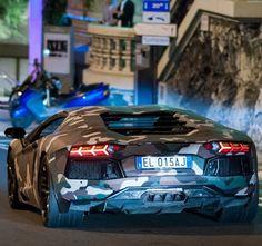 Camo Lamborghini aventador!