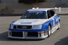 All fired up for the Audi IMSA S4 GTO