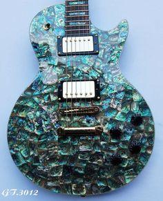 Antoniotsai,Solid Electric LP Guitar Real Natural Abalone Handmade Inlay 3012 #Antoniotsai