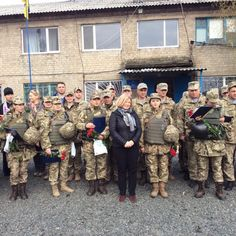 Many #Ukrainian military women fighting on the front line in #Donbas were awarded medals today by deputy pres of Rada Ms. Iryna Geraschenko. Glasnost Gone (@GlasnostGone) | Twitter
