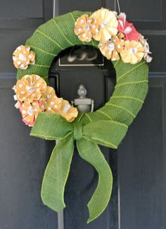 How To: Spring Wreath DIY