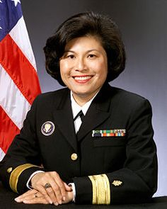 """Eleanor """"Connie"""" Mariano, USN, was nominated to the rank of Rear Admiral by President Bill Clinton and eventually served as the White House Physician for President Clinton and President George W. Bush."""