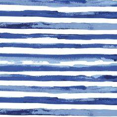 Watercolor stripe custom wallpaper by katarina for sale on Spoonflower Watercolor Fabric, Watercolor Pattern, Watercolor Background, Surface Pattern Design, Pattern Art, Textures Patterns, Print Patterns, Spoonflower, Illustration
