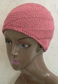 Spiral Knit Cap By: Head Huggers