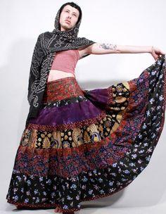 Reserved Pushkin patchwork hand dyed batik gypsy by ChopstixWaits, $118.00