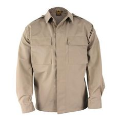 Men's Propper BDU 2-Pocket Shirt Long Sleeve 65P/35C Long