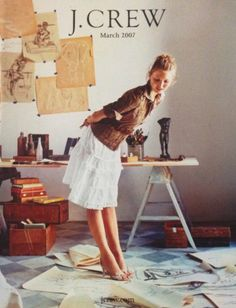 J.Crew March 2007 J Crew Style, Mom Style, J Crew Looks, Classic Style, Classic Fashion, Women's Fashion, J Crew Catalog, Stylish Outfits, Cute Outfits