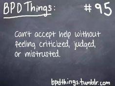 BPD Things #95 (Borderline Personality Disorder)